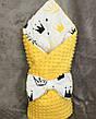 """Детский демисезонный конверт на выписку """"Минки"""", конверт-одеяло, нарядный конверт на выписку (ВЕСНА/ ОСЕНЬ), фото 4"""
