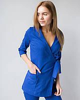 Женский костюм массажиста из премиум-коттона