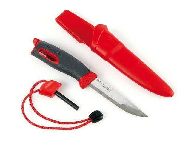 Нож с огнивом LIGHT MY FIRE FireKnife Red 12113010