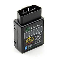 Диагностический сканер-адаптер ELM327 OBD2 v2.1 Bluetooth mini Black