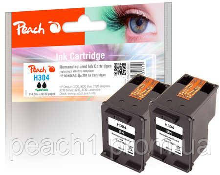 Набор картриджей (2x), черные (Black ), HP N9K06AE, No 304 TwinPack