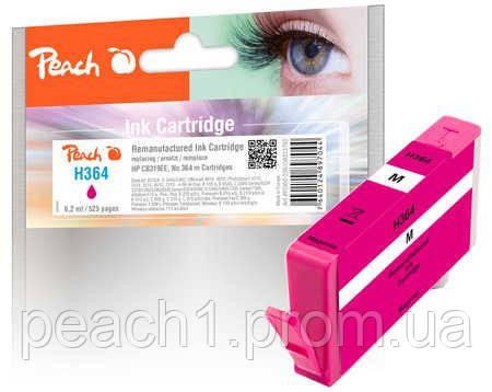 Картридж струйный, розовый (Пурпурный/Magenta) HP CB319EE, No 364 с новым чипом