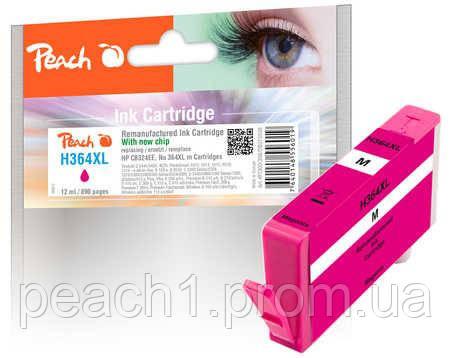 Картридж струйный, розовый (Пурпурный/Magenta) HP CB324EE, No 364XL с новым чипом