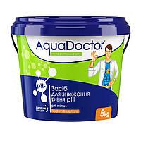 РН Minus, 5кг, засіб для зниження рівня pH, AquaDoctor