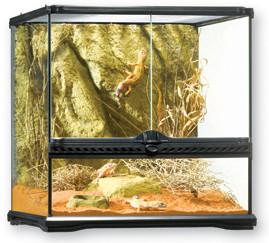 Террариум из силикатного стекла, (Hagen) 90х45х60см