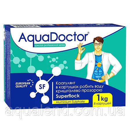 Флокулянт картушный Super Flock AquaDoctor, 1кг, фото 2