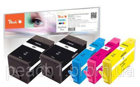 Набор картриджей (MultiPack Plus) (2xBK,C,M,Y) HP No 920XL с новым чипом