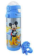 Термос детский с поилкой Disney Heroes Mickey Mouse 603 350 мл