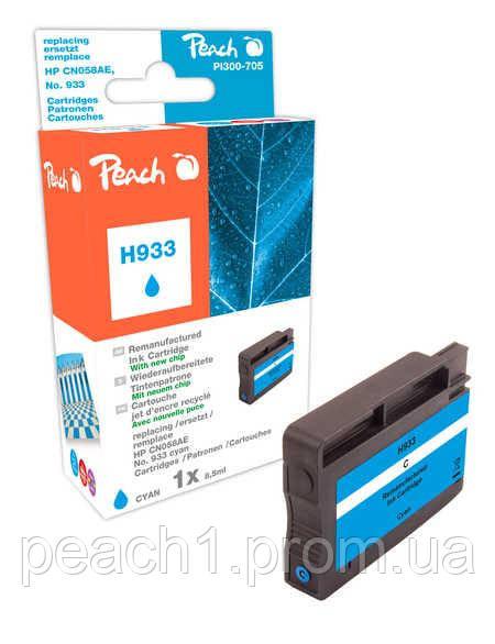 Картридж струйный, голубой (Cyan ), HP CN058AE, No 933 с новым чипом