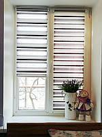 Рулонные шторы Прованс на окна цвет фиолетовый