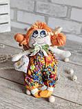 """Лялька """"Дівчинка-ангел"""" із сердечком з побажаннями, текстильна, 22см., 180/150 (ціна за 1 шт.+30гр.), фото 2"""
