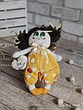 """Лялька """"Дівчинка-ангел"""" із сердечком з побажаннями, текстильна, 22см., 180/150 (ціна за 1 шт.+30гр.), фото 3"""
