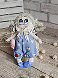 """Лялька """"Дівчинка-ангел"""" із сердечком з побажаннями, текстильна, 22см., 180/150 (ціна за 1 шт.+30гр.), фото 4"""