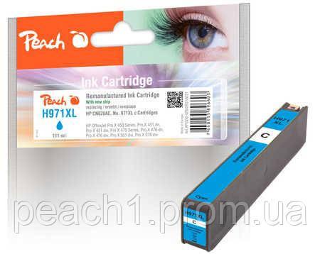 Картридж струйный, голубой (Cyan ), HP CN626AE, No 971XL с новым чипом