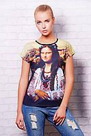 Джоконда футболка Кимоно glam