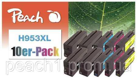 4xbk, 2xc, 2xm, 2xy HP No 953XL Multi 10 Pack с новым чипом