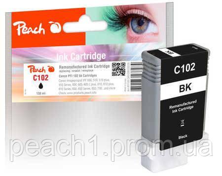 Картридж струйный, черный (Black ), Canon 29952627, PFI 102 с новым чипом