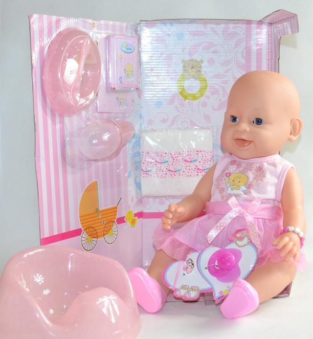 кукла с аксессуарами baby doll