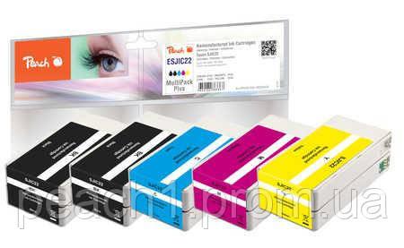 Набор картриджей (MultiPack Plus) (2xBK,C,M,Y) Epson SJIC22 MultiPack Plus с оригинальным чипом.
