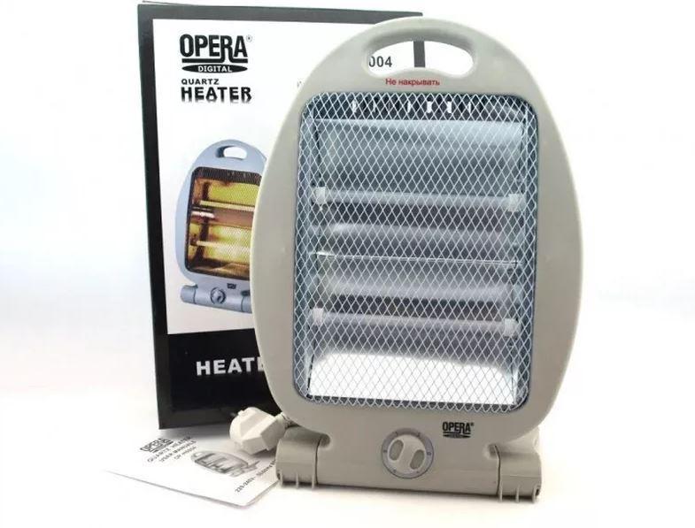 Обігрівач кварцовий інфрачервоний Opera 2 режими 800 Вт