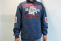 Мужская ветровка FIRST FOOTSCRAY №18 синяя с капюшоном код 173 в