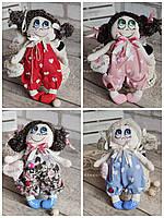 """Лялька """"Дівчинка-ангел"""" із сердечком з побажаннями, текстильна, 22см., 180/150 (цена за 1 шт.+30гр.), фото 1"""