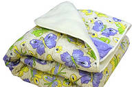 Одеяло двуспальное меховое, 180х215 см ткань бязь.(арт.МБ8)