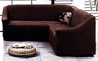 Универсальный Чехол на Угловой диван «без Рюши» Турция 1 465грн.