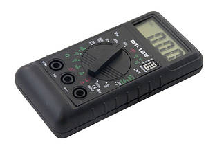 Цифровий мультиметр тестер вольтметр DT-182