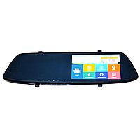 Видеорегистратор-зеркало DVR L1001С Full HD с камерой заднего вида