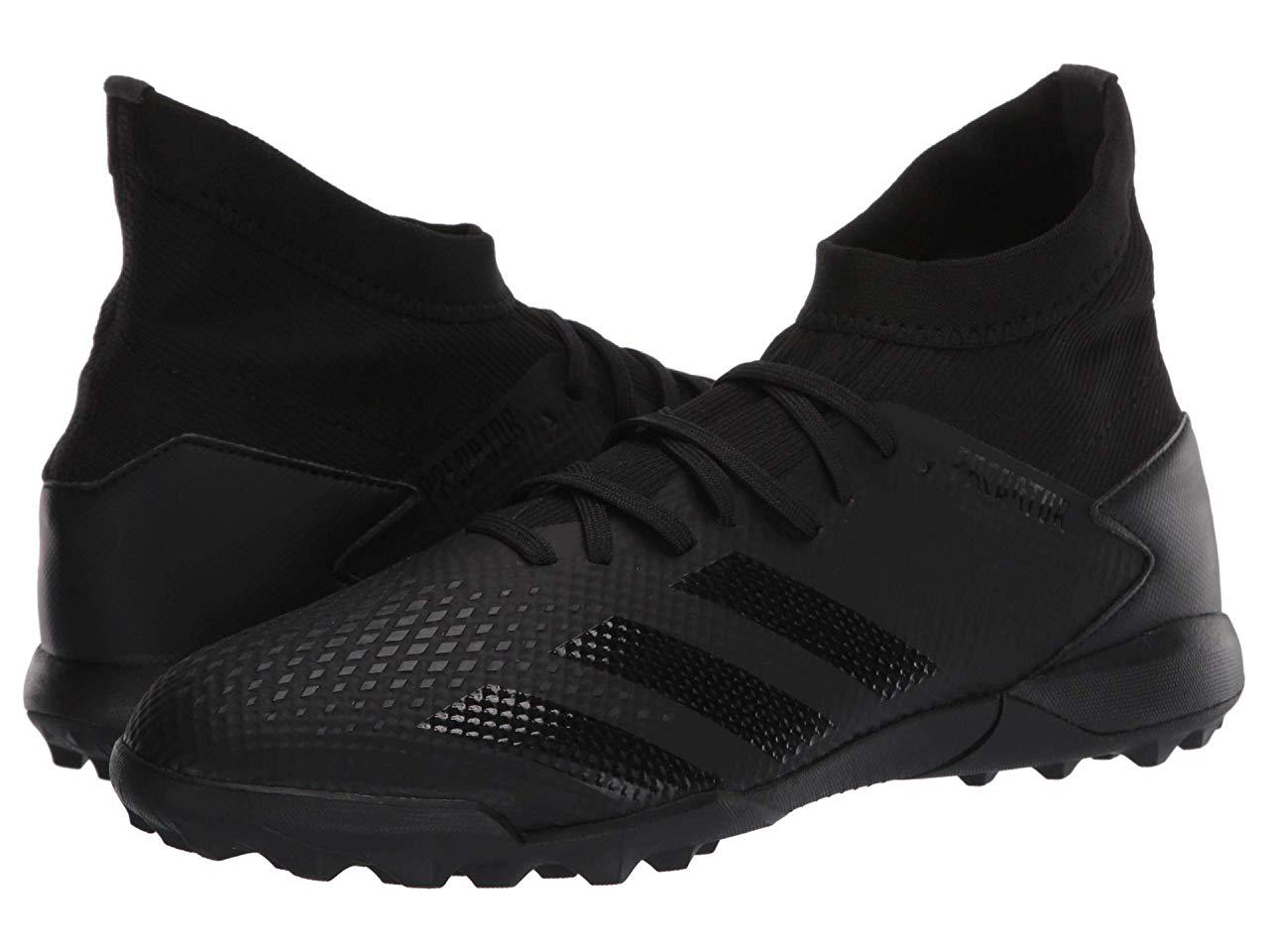 Кроссовки/Кеды (Оригинал) adidas Predator 20.3 Tf Core Black/Core Black/Dark Grey Heather Solid Grey