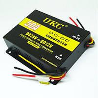 Инвертор преобразователь напряжения UKC 24В в 12В 50A Black