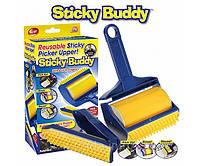 Липкие валики для чистки и уборки Sticky Buddy