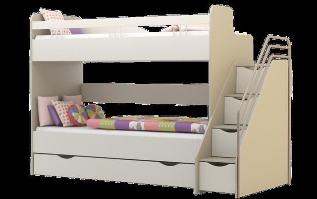 ліжко двохярусне Лімпопо