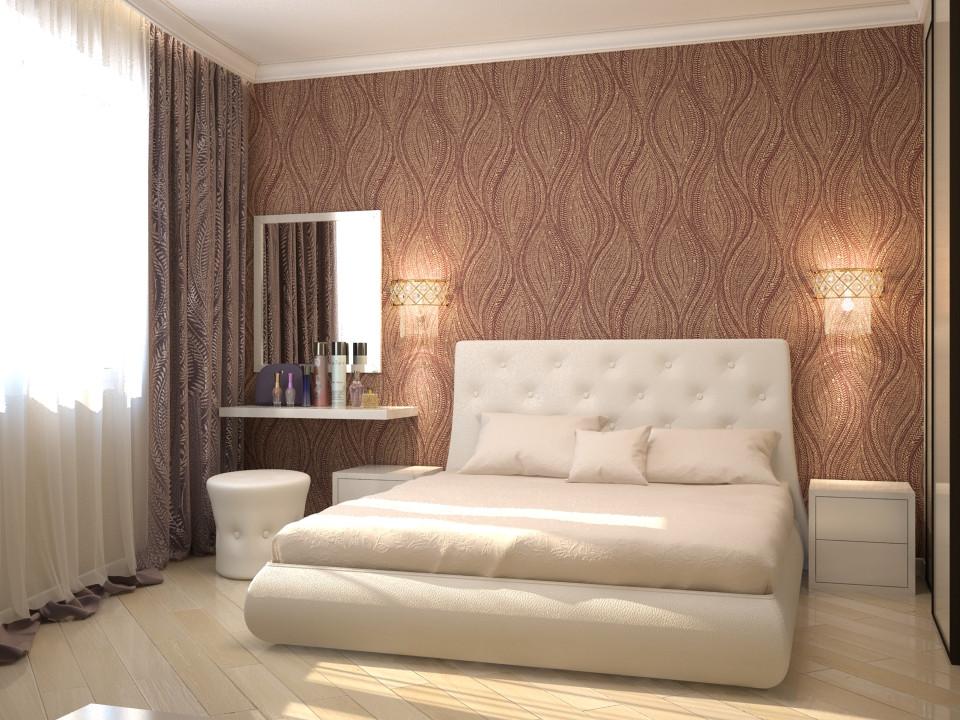 Двуспальная кровать по визуализации дизайнера