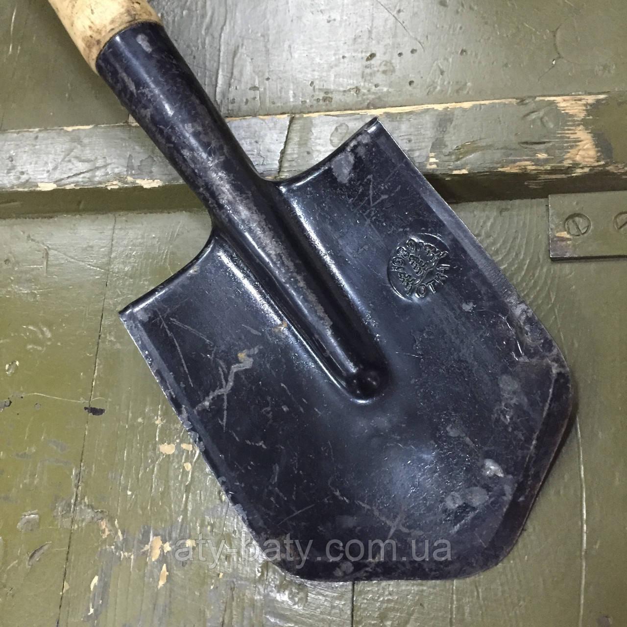 Лопата саперная МСЛ с чехлом, СССР