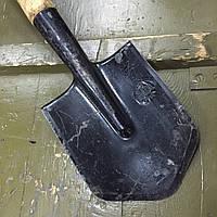 Лопата саперная МСЛ с чехлом, СССР, фото 1