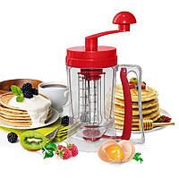 Ручной миксер для теста с дозатором Pancake Machine