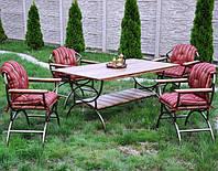 Мебель садовая металлическая нашего производства