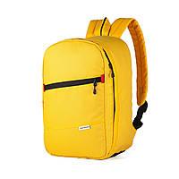 Рюкзак для ручной клади 40x20x25 Wascobags J-Satch S Желтый (Wizz Air / Ryanair)