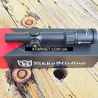Прицел Nikko Stirling Boar Eater 1-4х24 N4 30 mm подсветка (NSBE1424)