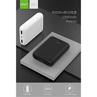 Внешний аккумулятор / Портативные зарядки / Power Bank GOLF G62 10000 mah