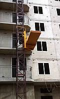 Подъемник мачтовый грузовой строительный