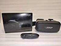 Очки виртуальной реальности VR BOX с пультом (черные)