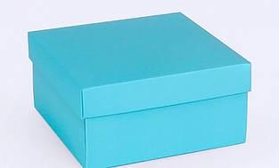 Подарочная коробка Blue 14х14х7 см