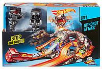 Трек Хот Вилс Карзила Hot Wheels Nitrobot Attack Track, фото 1