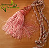 Кисти для штор №6 розовые , подхваты (2шт)