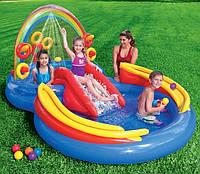 Игровой центр Радуга Intex 57453 с душем и игрушками