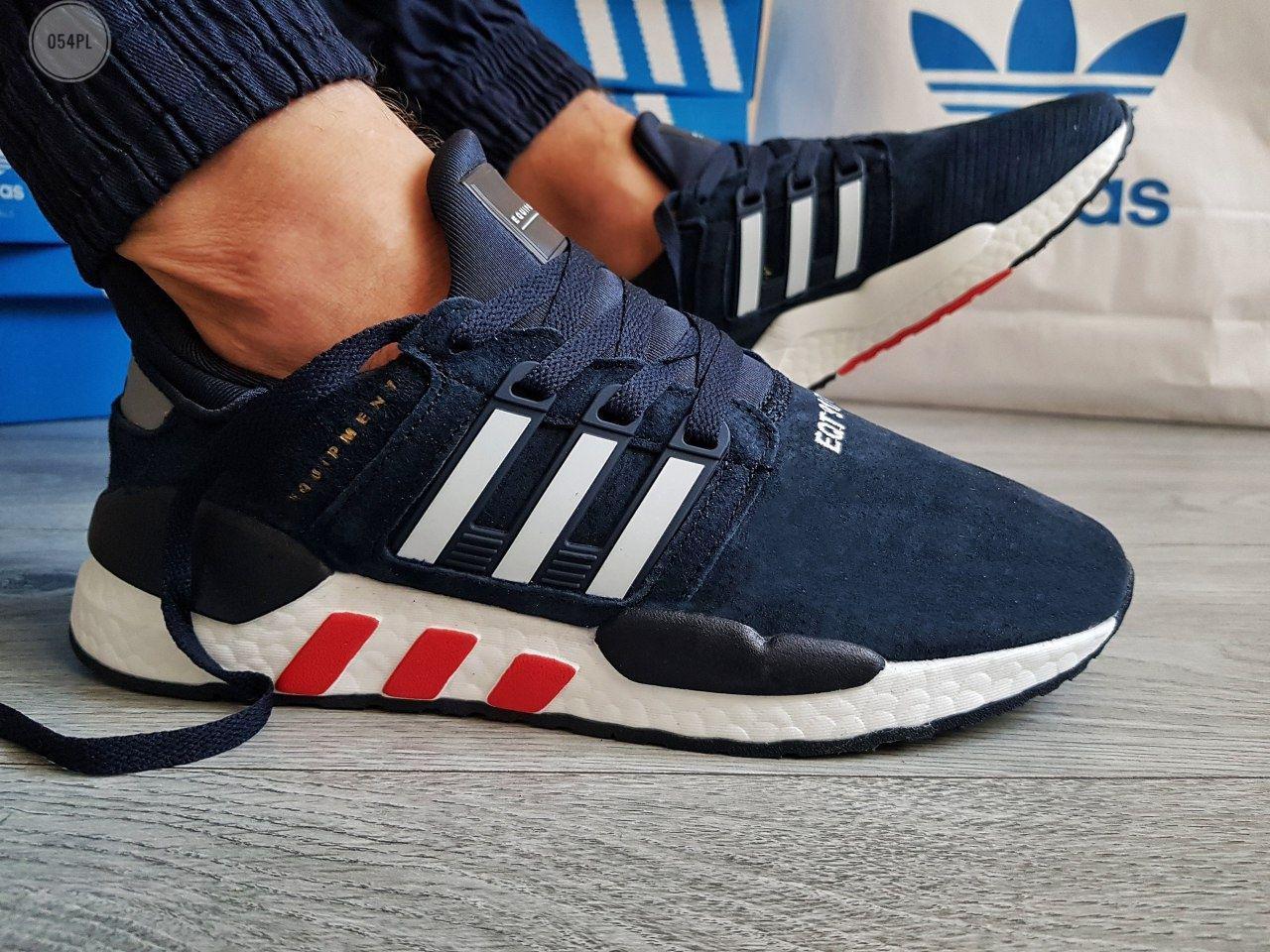 Мужские кроссовки Adidas Equipment (р. 41 43 44 45) синие
