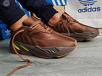 Мужские кроссовки Adidas Yeezy Boost 700 Brown (р. 42 44 45) коричневые, фото 1